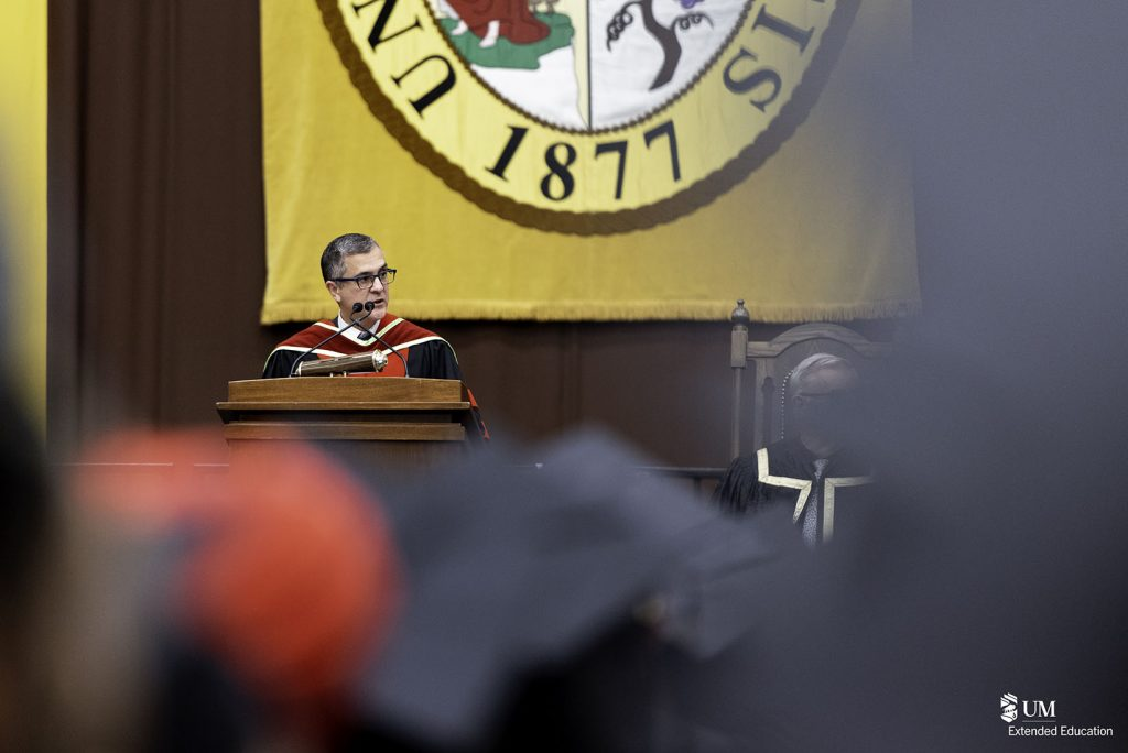 A few words from the Acting Dean