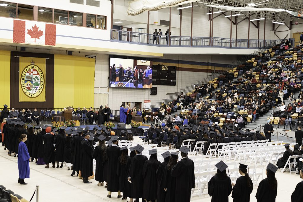 Class of 2019 procession